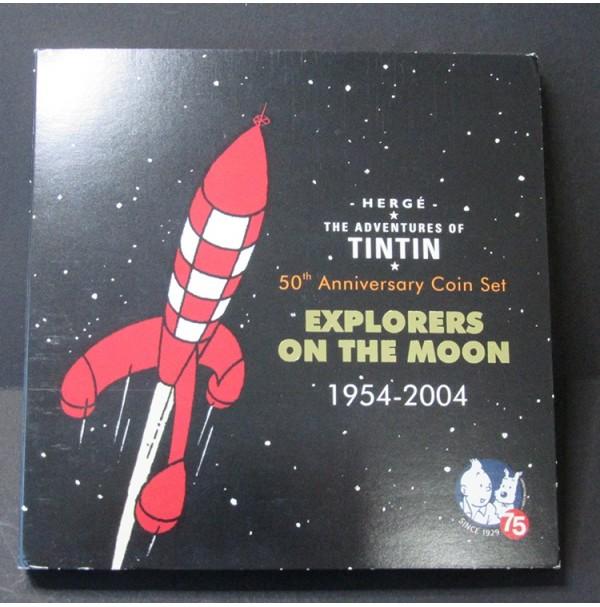 """50 Aniversario de Tintín """"Explorer on the Moon"""" 1954 - 2004"""