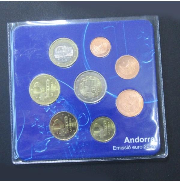 Andorra - Emisión del euro 2014