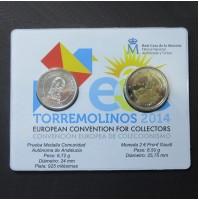 España - Emisión especial Convención Europea de Coleccionismo Torremolinos 2014