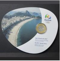Brasil - 1 Real 2016 - Juegos Olímpicos