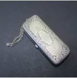 Monedero de plata antiguo de  GER. SILVER W.H.S.CO