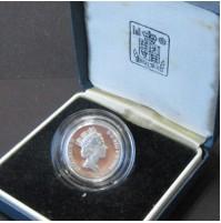 Reino Unido - 1 Libra de plata 1988