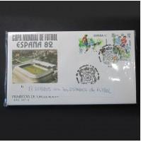 España - 17 sobres con los estadios de Fútbol Mundial España 1982