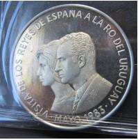 Uruguay - 2000 Nuevos Pesos de plata de 1983