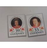 Lote de sellos y sobres de Elizabeth II de Inglaterra