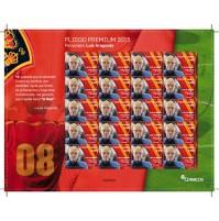 España - Pliego Premium Nº 20 2015 Luis Aragonés La Roja MNH