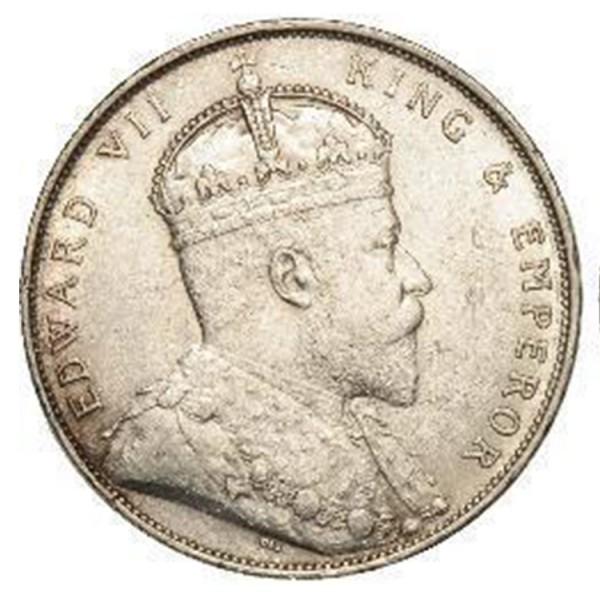 Straits Settlements - 1 Dólar de 1904